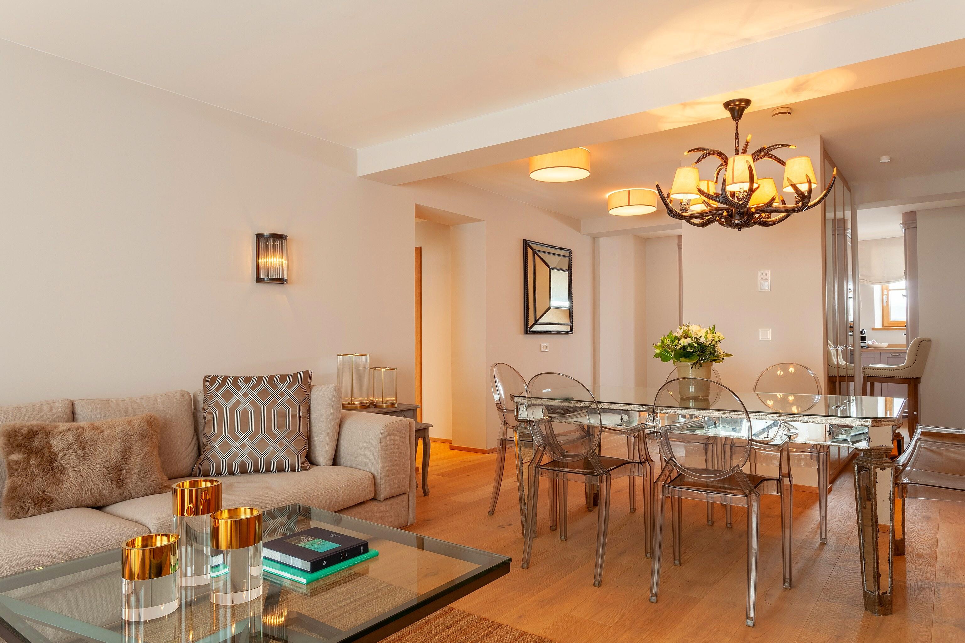 Slider - Apartment 2 - Wohnzimmer