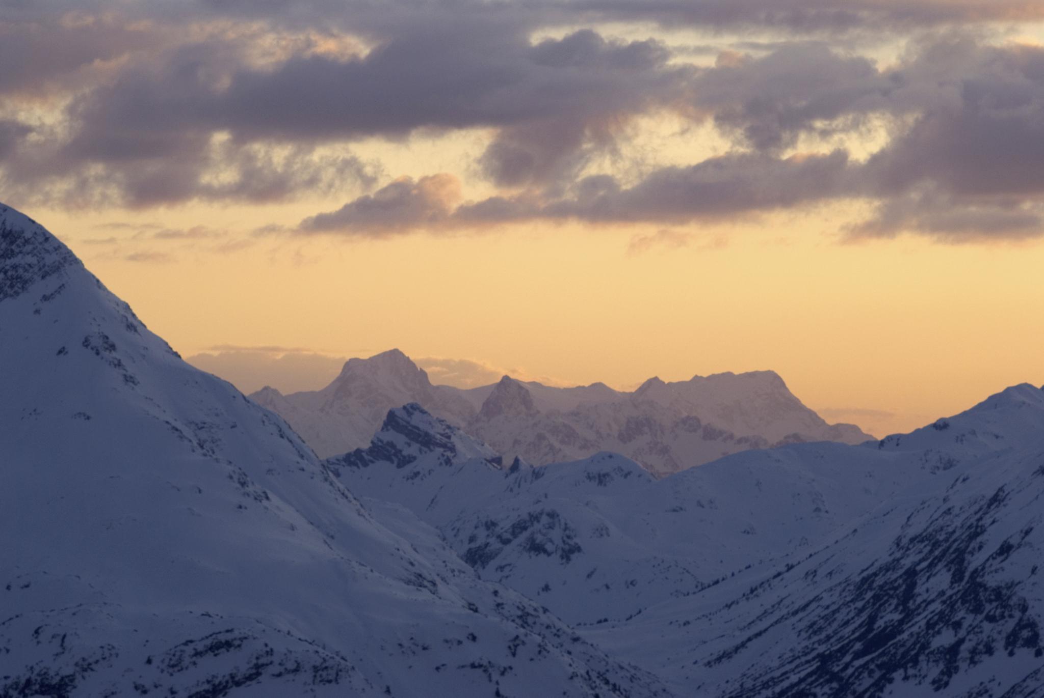 Region Zürs Ausblick Berge