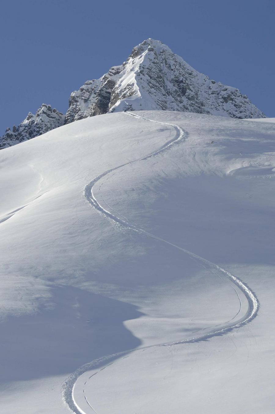 Schneespur