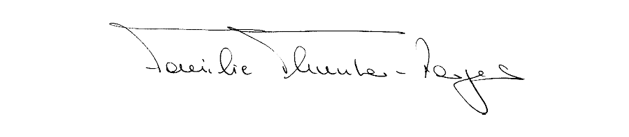 Unterschrift Familie Thurnhers