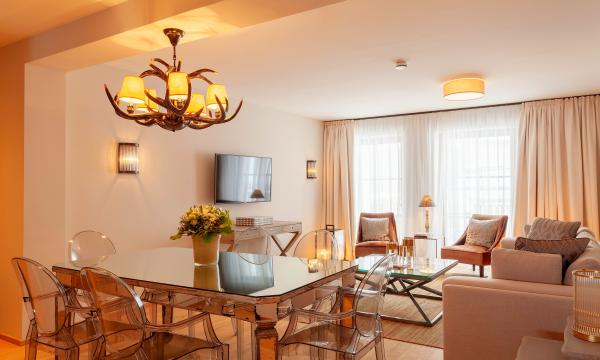 Thurnher's Residences - Apartment 2 - Essbereich