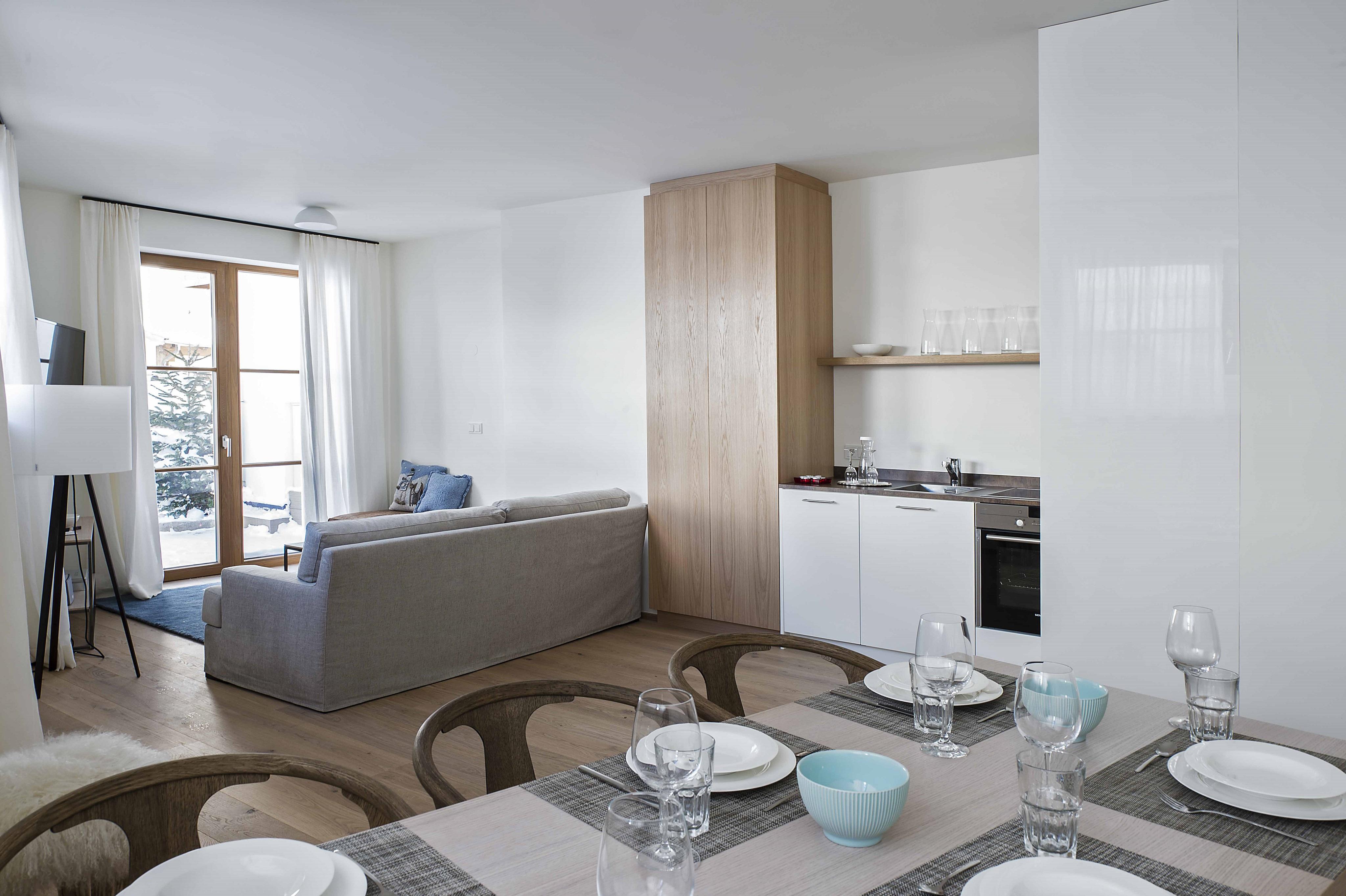 Slider - Apartment 3 - Essbereich