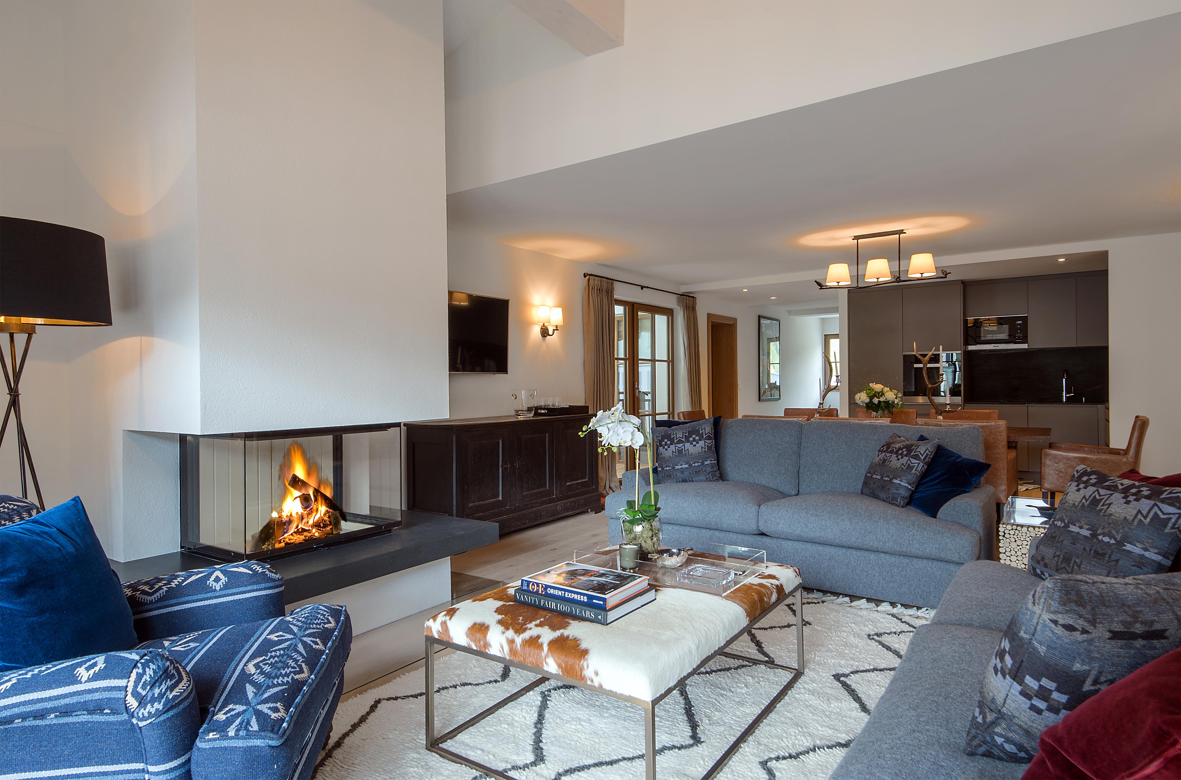 Silder - Apartment 5 - Wohnzimmer